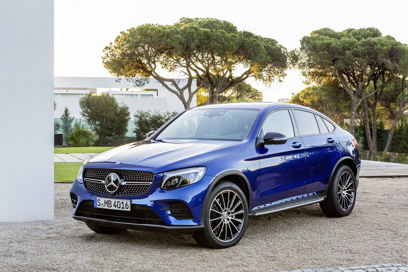 2017 Mercedes-Benz GLC Coupe High Resolution Exterior - image 670310