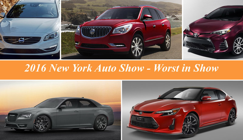 2016 New York International Auto Show – Worst In Show