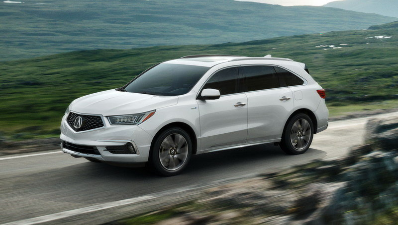 2017 - 2018 Acura MDX High Resolution Exterior - image 670503