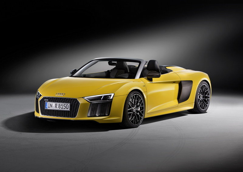 2017 - 2018 Audi R8 Spyder High Resolution Exterior - image 670350
