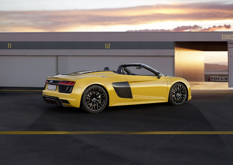 2017 - 2018 Audi R8 Spyder High Resolution Exterior - image 670352