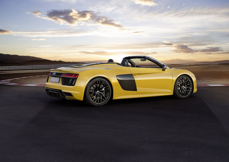 2017 - 2018 Audi R8 Spyder High Resolution Exterior - image 670353