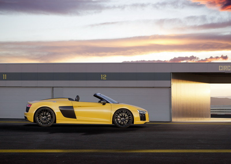 2017 - 2018 Audi R8 Spyder High Resolution Exterior - image 670354