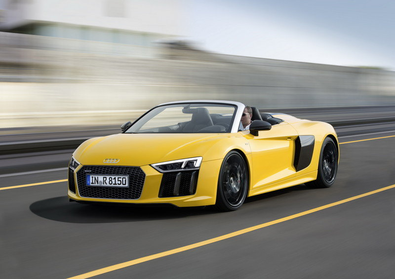 2017 - 2018 Audi R8 Spyder High Resolution Exterior Wallpaper quality - image 670362
