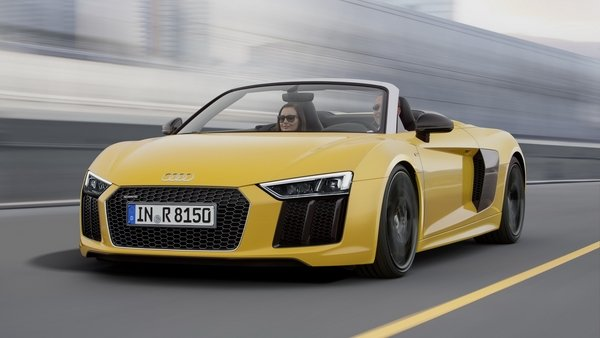 2017 Audi R8 Spyder Review   Top Speed. »