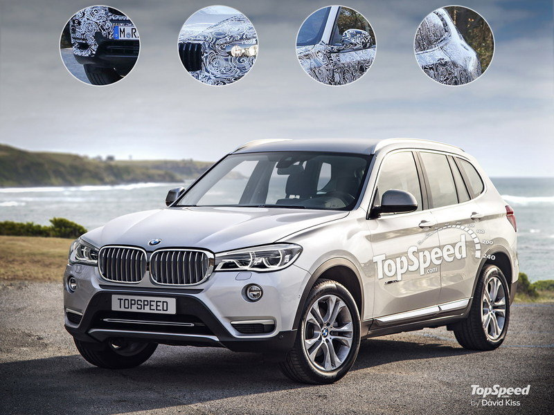2018 BMW X3 Exterior Exclusive Renderings Computer Renderings and Photoshop - image 668899