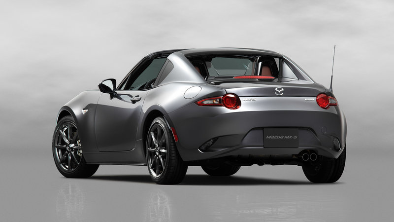 2017 Mazda MX-5 RF Unveiled