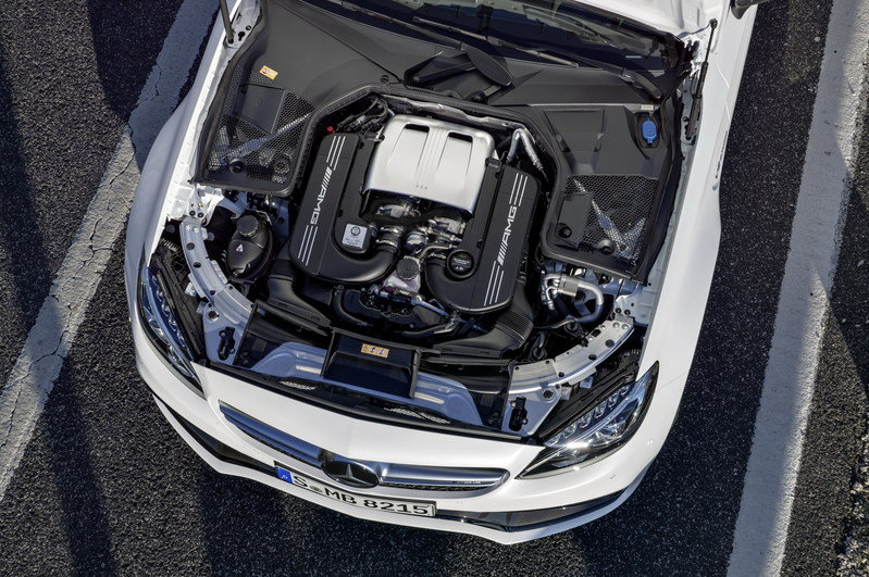 2017 Mercedes-AMG C63 Cabriolet High Resolution Drivetrain - image 670494
