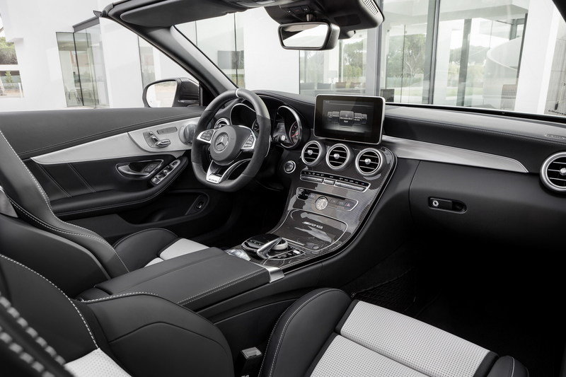 2017 Mercedes-AMG C63 Cabriolet High Resolution Interior Drivetrain - image 670482