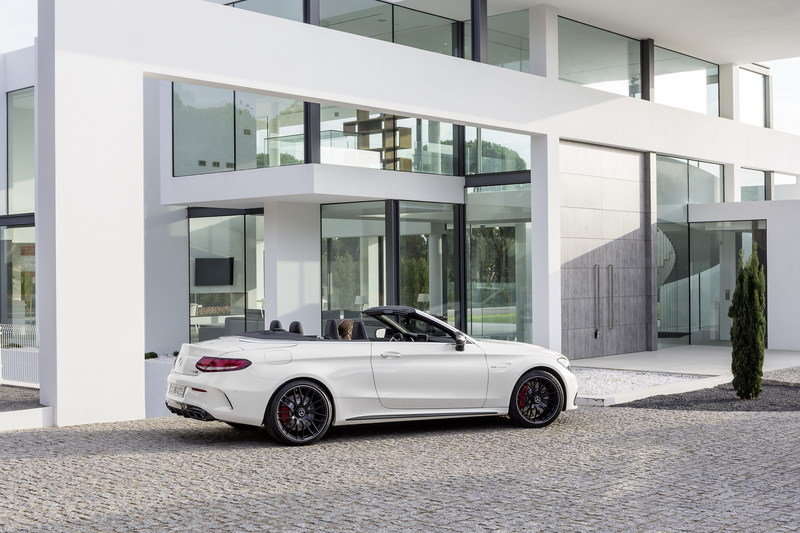 2017 Mercedes-AMG C63 Cabriolet High Resolution Exterior - image 670483