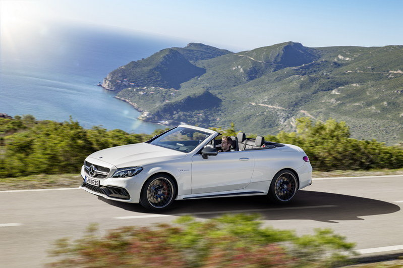 2017 Mercedes-AMG C63 Cabriolet High Resolution Exterior - image 670489