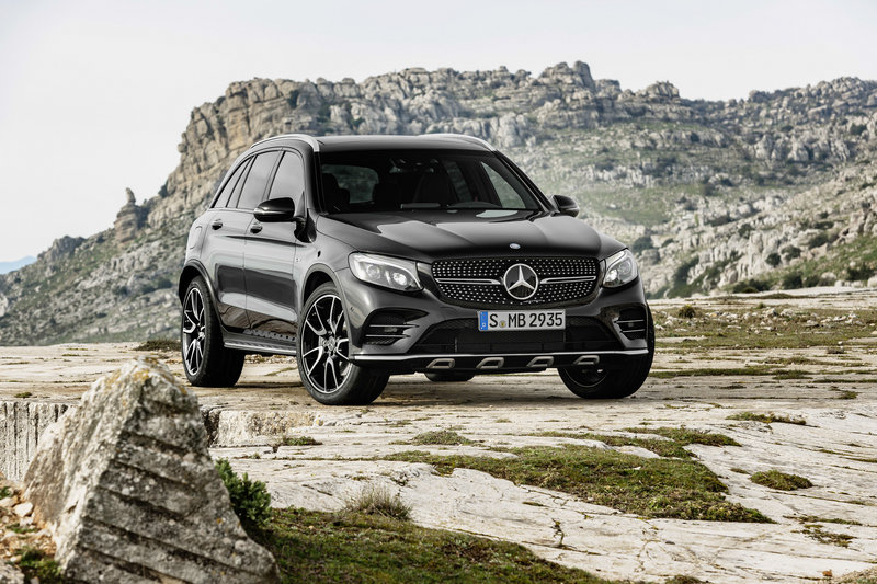 2017 Mercedes-AMG GLC43 4MATIC High Resolution Exterior - image 669791