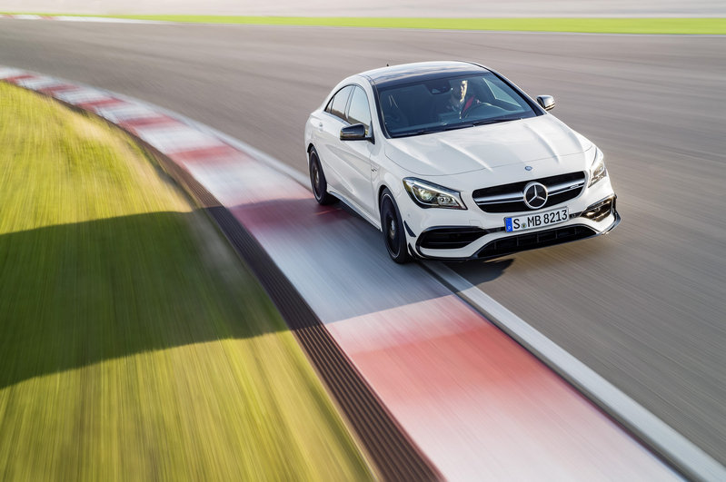 2017 Mercedes-Benz CLA Unveiled High Resolution Exterior Wallpaper quality - image 669639