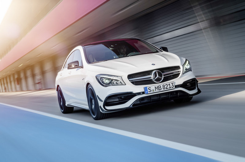 2017 Mercedes-Benz CLA Unveiled High Resolution Exterior - image 669640