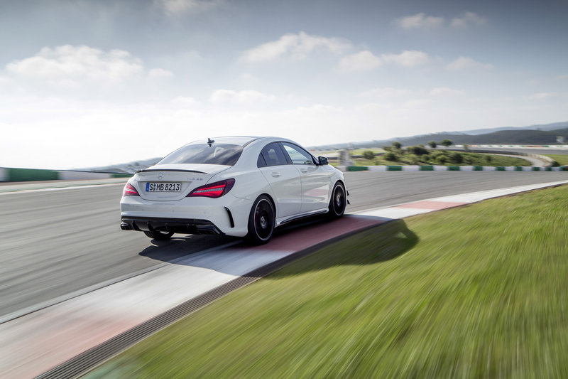2017 Mercedes-AMG CLA45 High Resolution Exterior - image 669642
