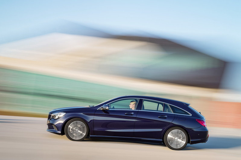 2017 Mercedes-Benz CLA Shooting Brake High Resolution Exterior - image 669694