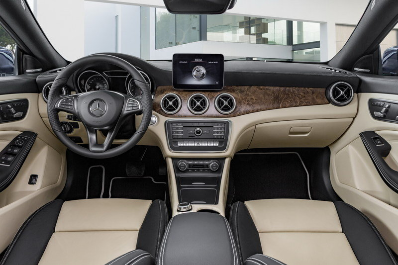 2017 Mercedes-Benz CLA Shooting Brake High Resolution Interior - image 669697