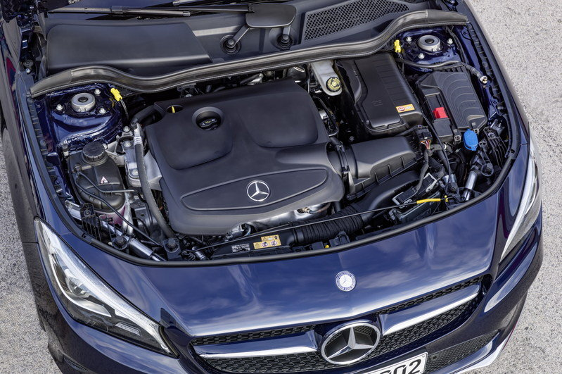 2017 Mercedes-Benz CLA Shooting Brake High Resolution Drivetrain - image 669700