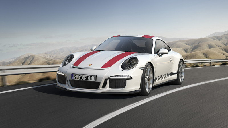 2017 Porsche 911 R High Resolution Exterior - image 667603