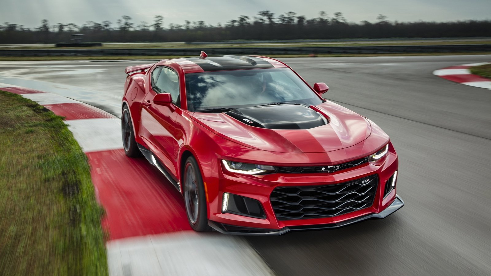 2017 Chevrolet Camaro Zl1 Top Speed
