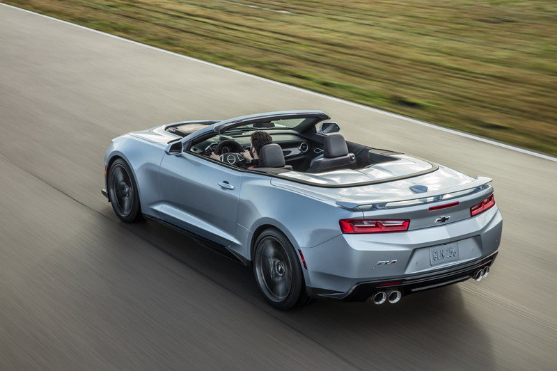 2018 Chevrolet Camaro ZL1 Convertible High Resolution Exterior Wallpaper quality - image 670603