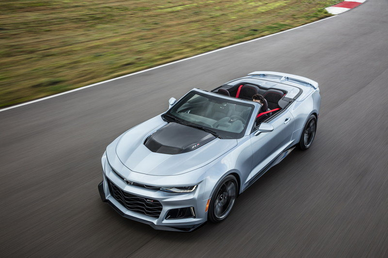2018 Chevrolet Camaro Zl1 Convertible Review Top Speed