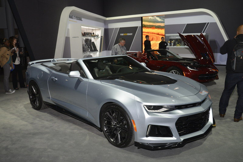 2018 Chevrolet Camaro ZL1 Convertible High Resolution Exterior AutoShow - image 670735