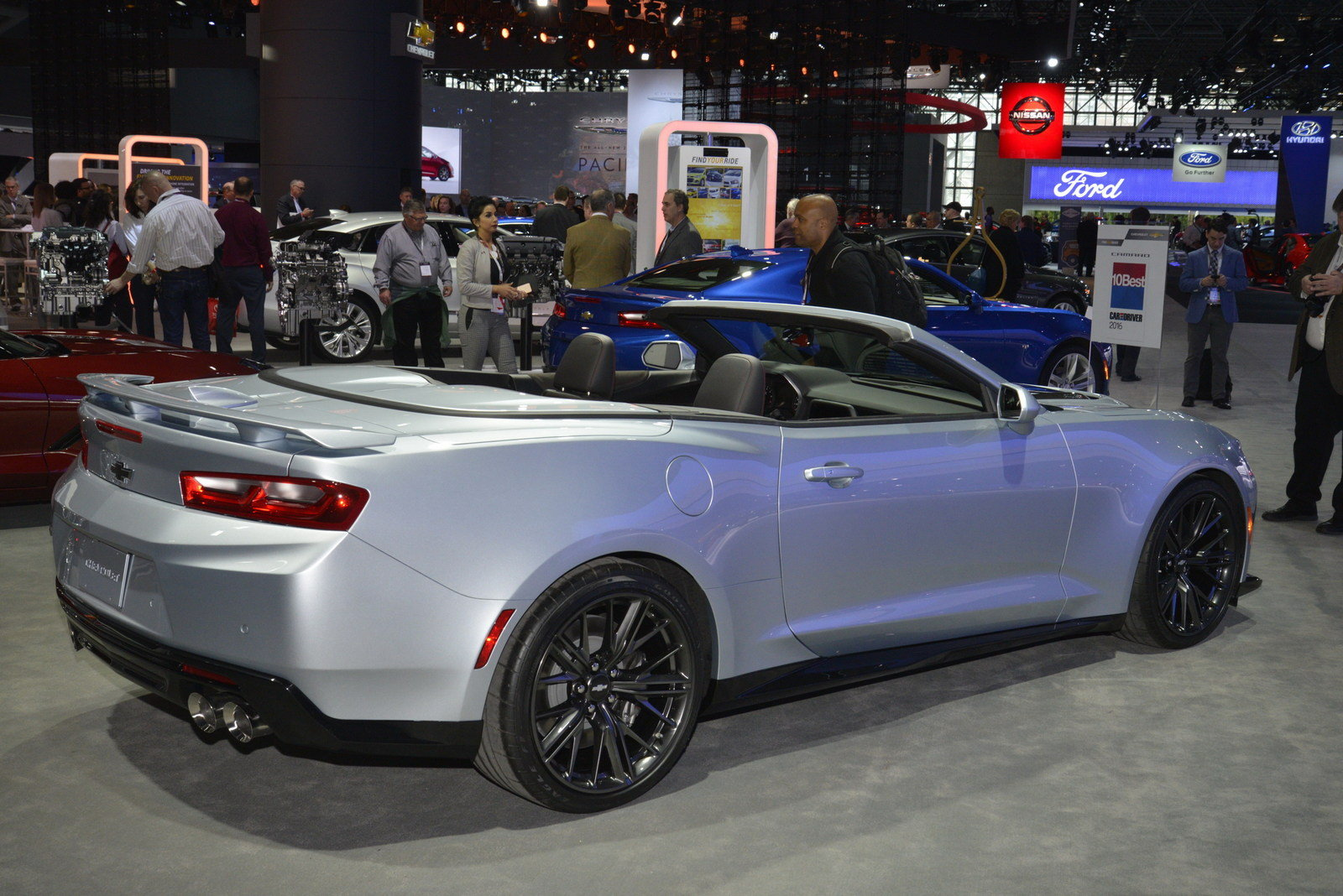 2018 Chevrolet Camaro ZL1 Convertible - Picture 670739 | car review ...