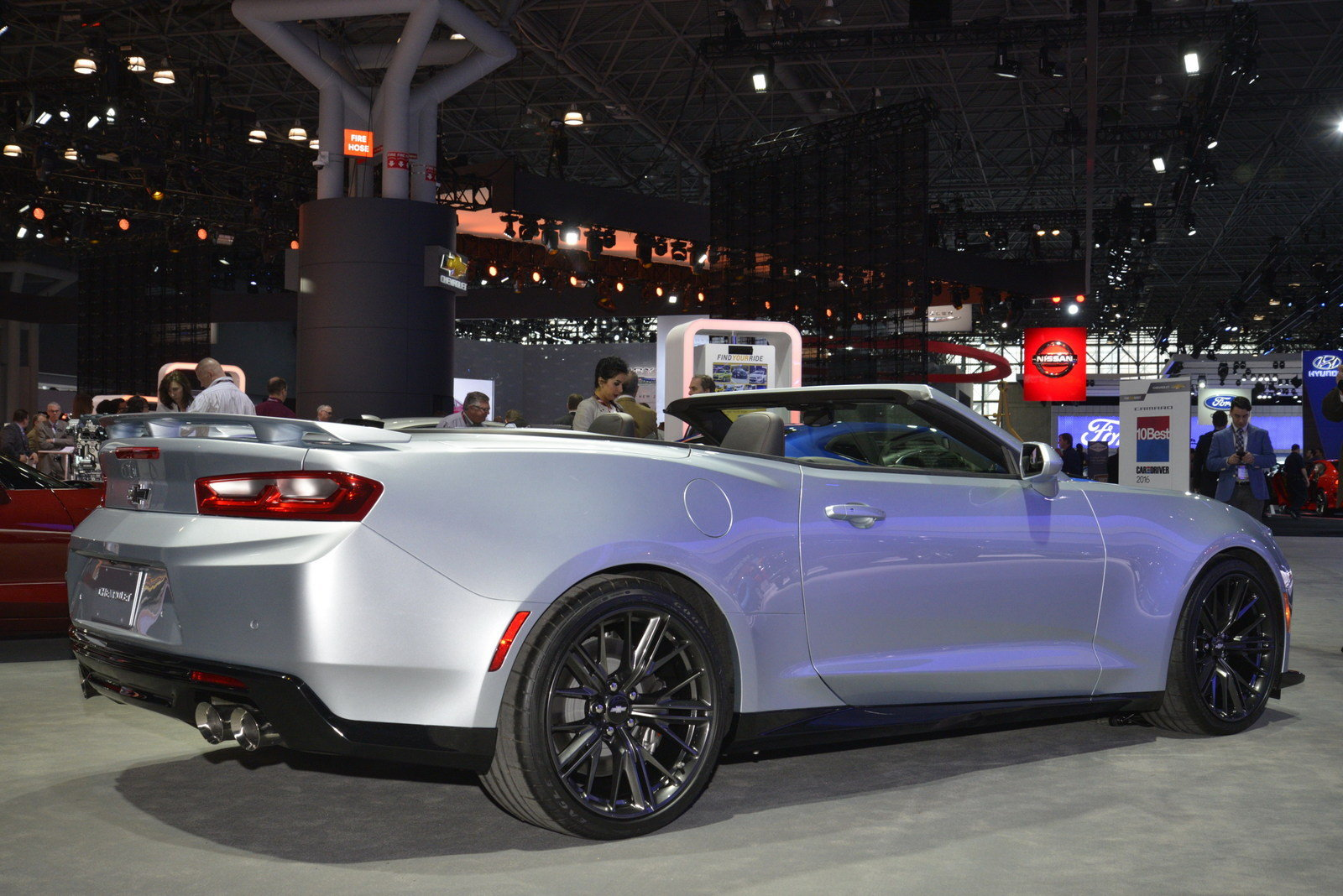 2018 Chevrolet Camaro Zl1 Convertible Picture 670740