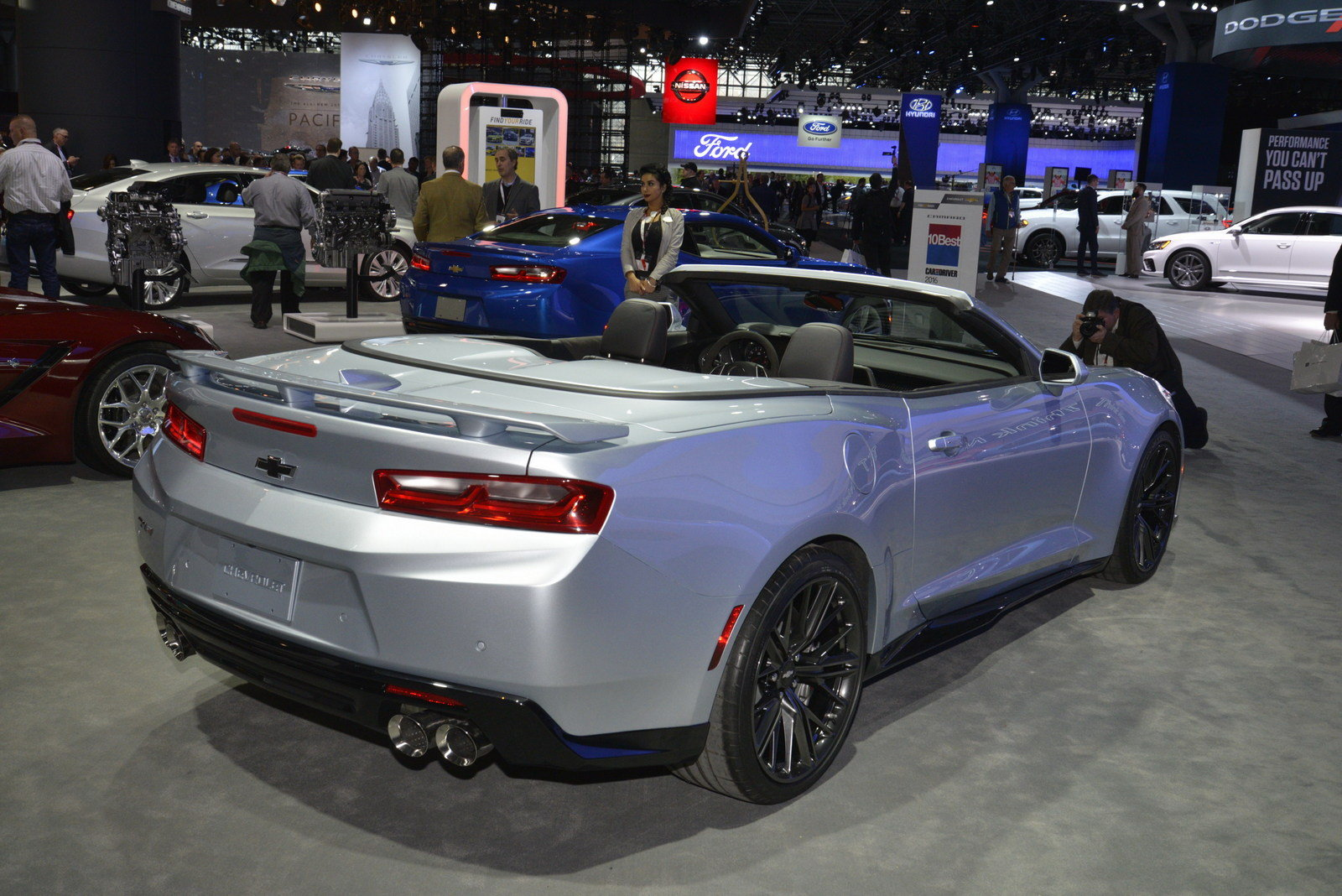 2018 Chevrolet Camaro ZL1 Convertible - Picture 670742 | car review ...