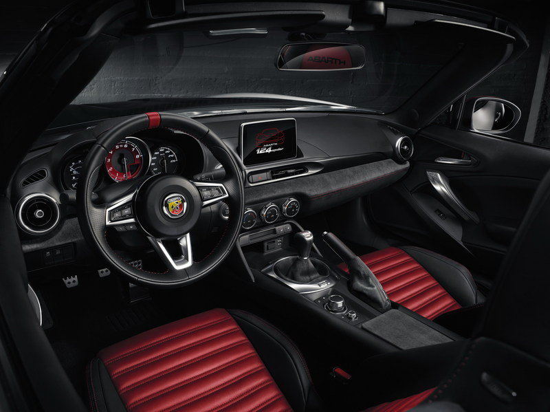2018 Fiat 124 Spider Abarth High Resolution Interior - image 667633