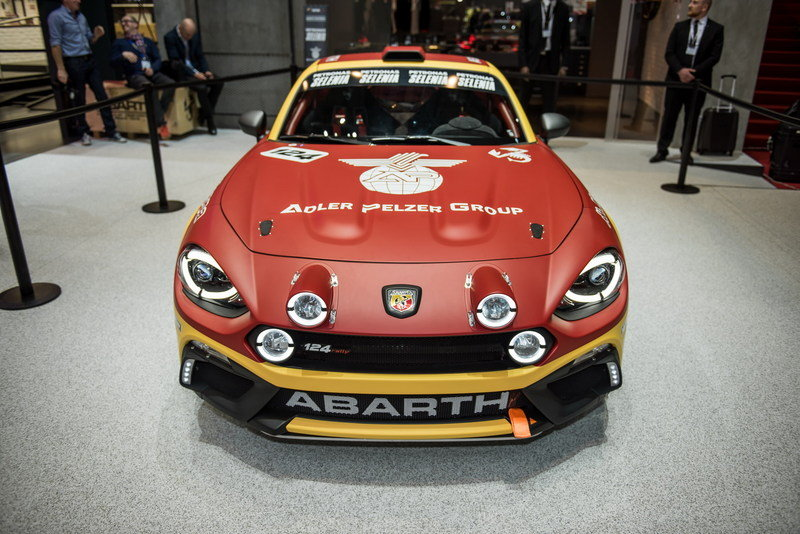 2016 Abarth 124 Rally High Resolution Exterior - image 668396