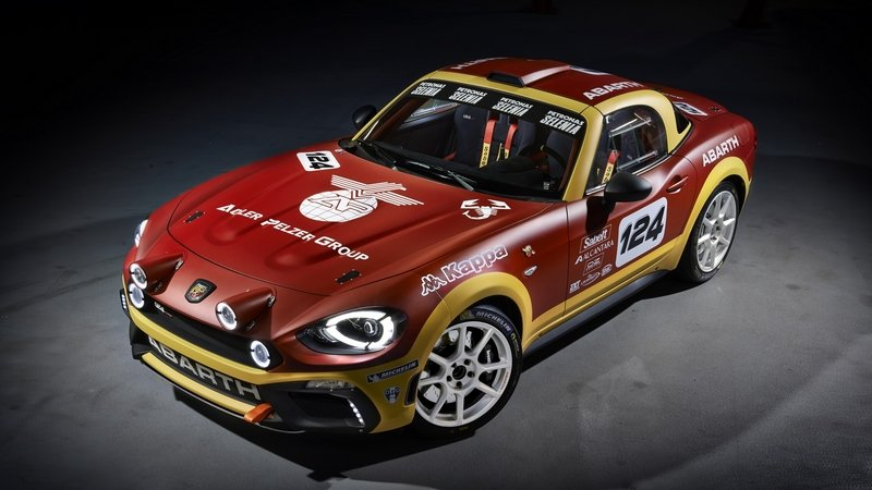 2016 Abarth 124 Rally