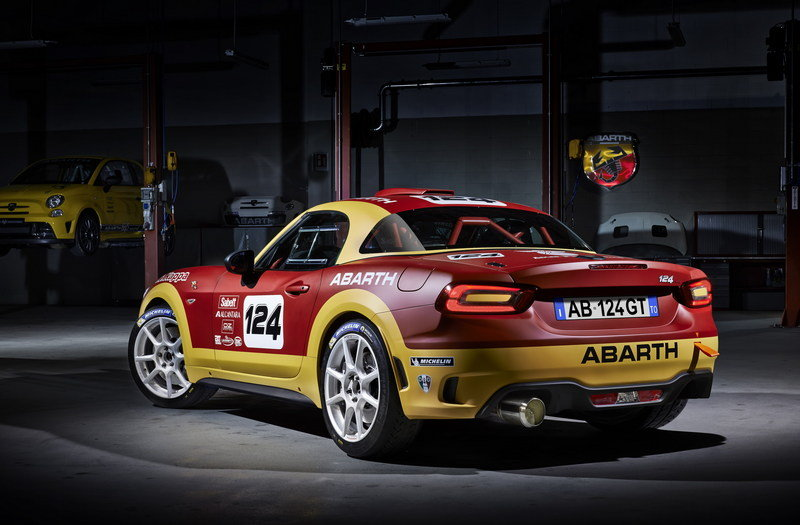 2016 Abarth 124 Rally High Resolution Exterior Wallpaper quality - image 668173
