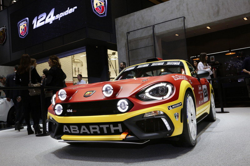 2016 Abarth 124 Rally High Resolution Exterior - image 668176