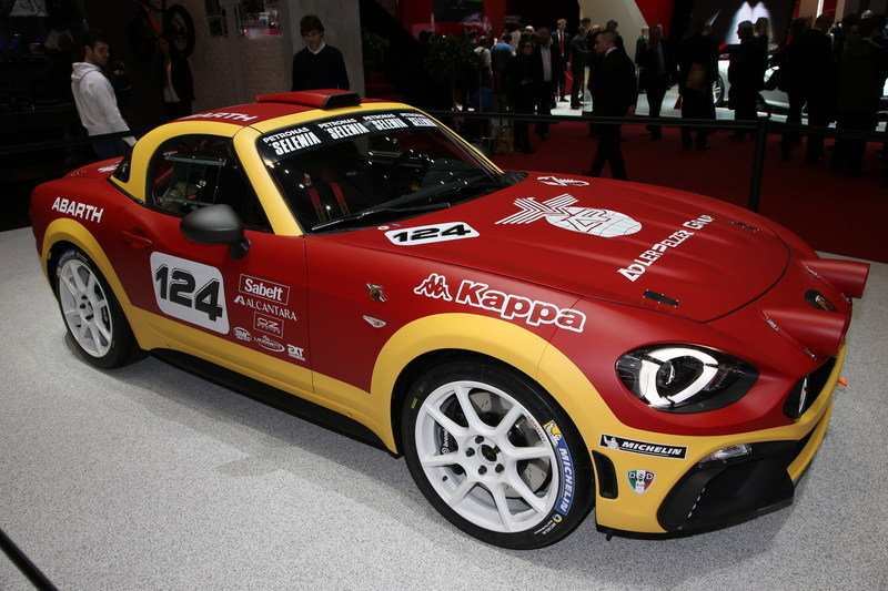 2016 Abarth 124 Rally High Resolution Exterior - image 668177