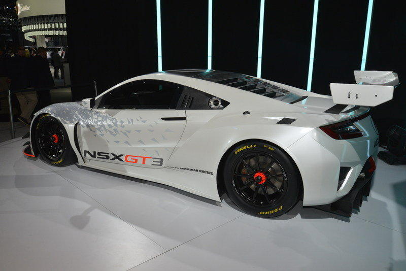2017 Acura NSX GT3 Race Car High Resolution Exterior AutoShow - image 670640