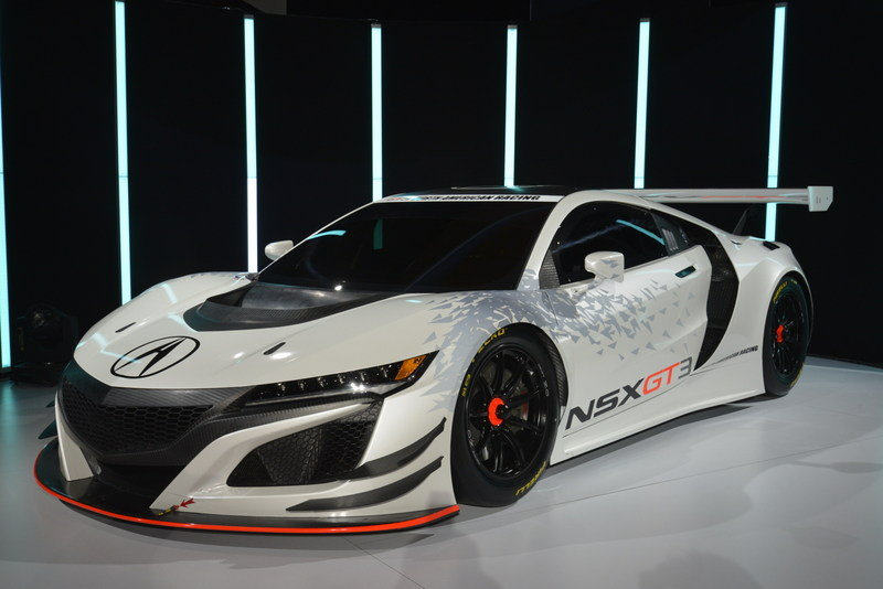 2017 Acura NSX GT3 Race Car High Resolution Exterior AutoShow - image 670635