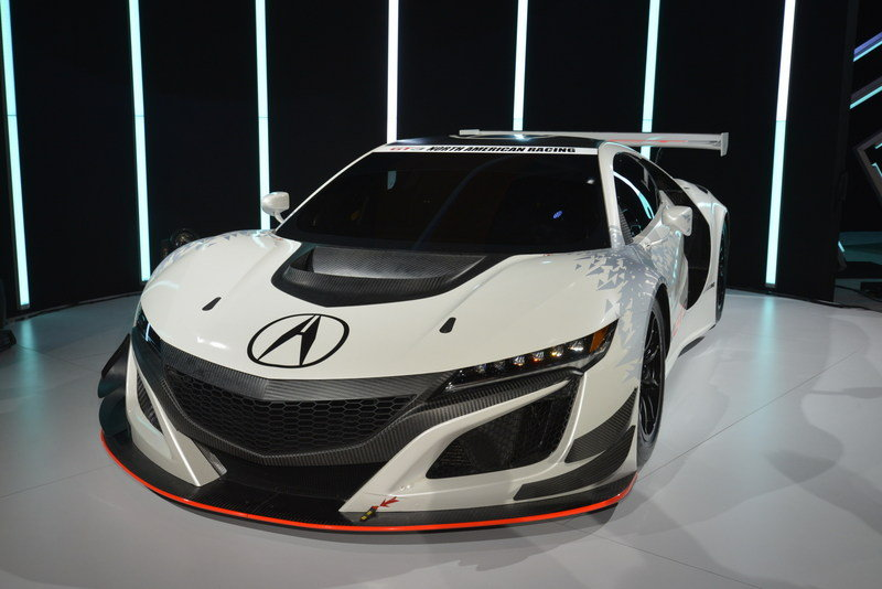 2017 Acura NSX GT3 Race Car High Resolution Exterior AutoShow - image 670636