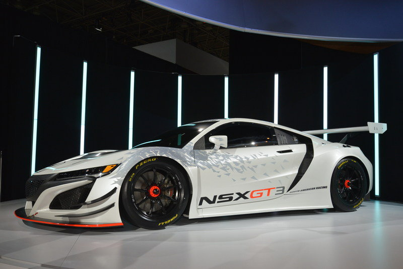 2017 Acura NSX GT3 Race Car High Resolution Exterior AutoShow - image 670637