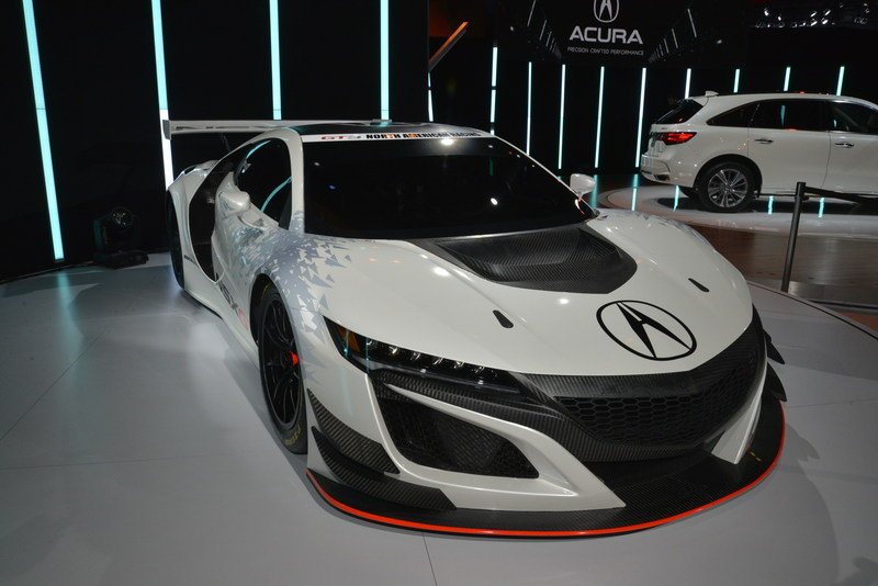 2017 Acura NSX GT3 Race Car High Resolution Exterior AutoShow - image 670639