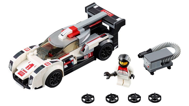 Audi and LEGO Speed Champions Unveil Two LMS Racer Kits