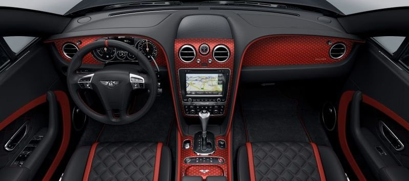 2016 Bentley Continental GT Black Speed Interior - image 670012