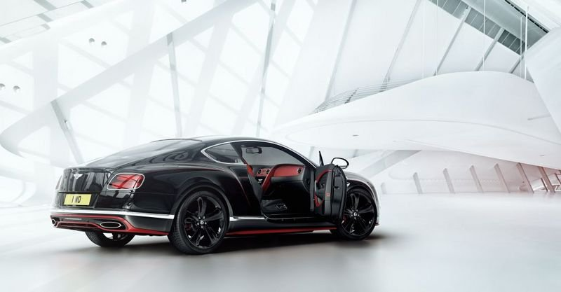 2016 Bentley Continental GT Black Speed Exterior - image 670009
