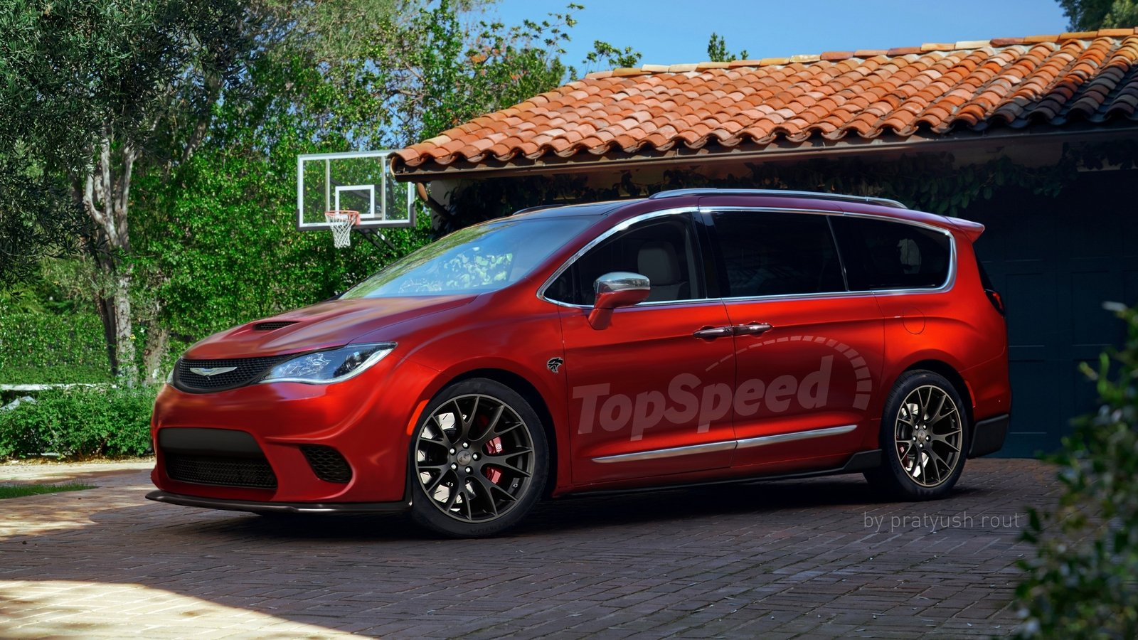 2017 Chrysler Pacifica Hellcat Top Speed