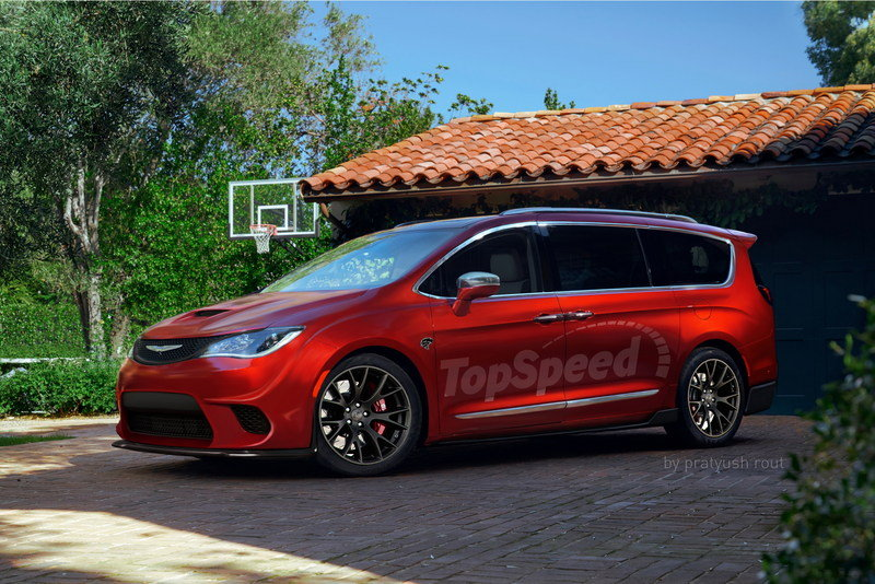 2017 Chrysler Pacifica Hellcat Exterior Exclusive Renderings Computer Renderings and Photoshop - image 668901