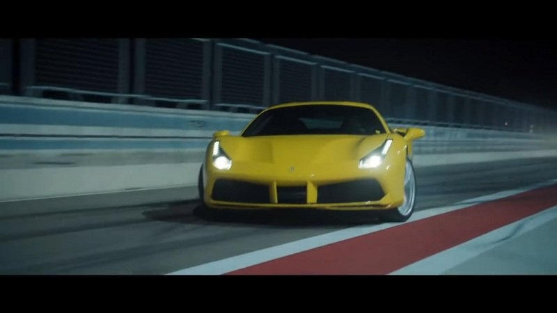 "Ferrari 488 GTB Stars In Pennzoil's ""Joyride"" Film: Video"