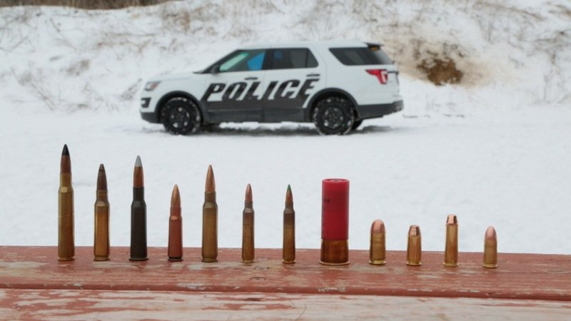 Ford Police Interceptor Now Offers Protection Against Armor-Piercing Ammo