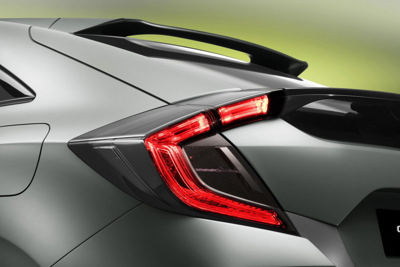 2016 Honda Civic Hatchback Prototype High Resolution Exterior - image 667966