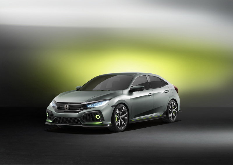 2016 Honda Civic Hatchback Prototype High Resolution Exterior Wallpaper quality - image 667969